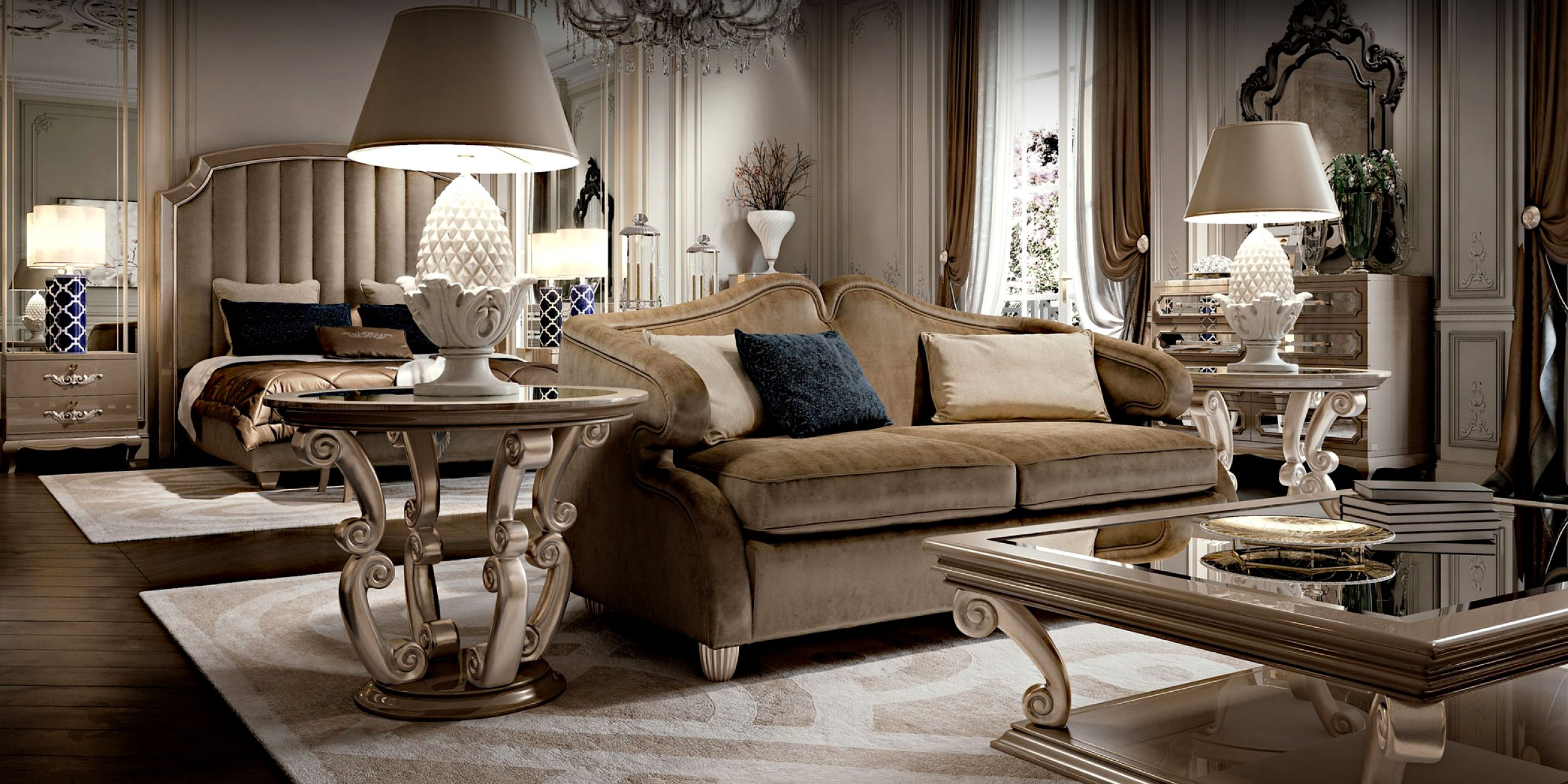 Classic Design Italia Mobili.Cavio Casa Contemporary Italian Furniture Interior Design